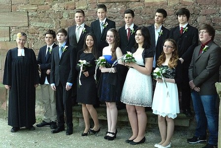 Konfirmation am 19.5.2013