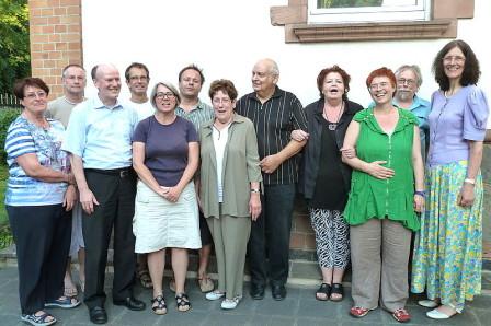 Gruppenfoto am 8. Juli 2013